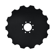 """20"""" x 4.5mm Notched Coulter Blades (CN124583)"""