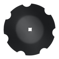 "22"" x 6mm Notched Disc Blades Deep Cone to Fit Deere (DNC136076)"