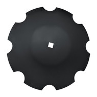 """24"""" x 6mm Notched Disc Blades Deep Cone to Fit Deere (DNC156076)"""
