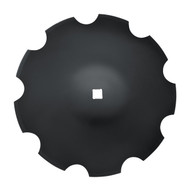 """26"""" x 8mm Notched Disc Blades Deep Cone to Fit Deere (DNC178076)"""