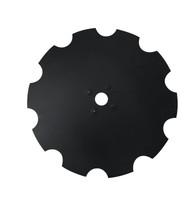"30"" x 12mm Notched Dimple Disc Blades to Fit Rome (DNR191248)"