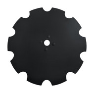 "32"" x 10mm Shallow Concavity 3.62"" Notched Dimple Disc Blades to Fit Rome (DNR201010)"
