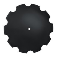 "28"" x 8mm Notched Disc Blades 2.8"" Shallow Concavity (DN188010)"
