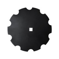 "20"" x 4mm Notched Disc Blades Standard Concavity (DN124005)"