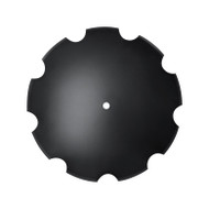 "20"" x 6mm Notched Disc Blades Standard Concavity (DN126005)"
