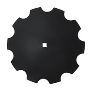 "24"" x 8mm Notched Disc Blades Standard Concavity (DN158005)"
