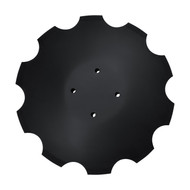 "20"" x 6.35mm Notched Flat Back Disc Blades to Fit Degelman/ Kinze ProTill High Speed Disc (DNF126054D4)"