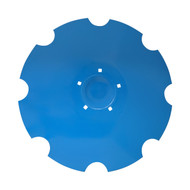 "24"" x 6mm Flat Back with Special Crimp Notched Flat Back Disc Blades to Fit Lemken (DNF156069)"