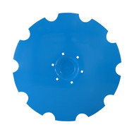 "30"" x 6mm Flat Back with Special Crimp Notched Flat Back Disc Blades to Fit  Lemken (DNF196069)"