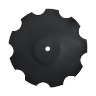 "18"" x 4.5mm Notched Raised Crimp Center Disc Blades (DNF114559)"