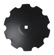 "28"" x 8mm Notched Raised Crimp Center Disc Blades (DNF188061)"