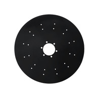 "28"" x 6mm Stalk Puller Smooth Disc Blade 1.58"" Shallow Concavity (DS186010C6)"