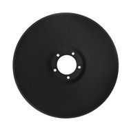 "24"" x 6.5mm, 5 Bolt Pattern Smooth Raised Crimp Center Disc Blades to Fit Case- DMI (DSF156552)"