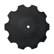 "20"" x 6mm Notched Raised Crimp Center Disc Blades (DNF126059)"