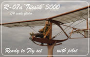 "Tücsök 3000 ""Grig""  1:4 scale Glider RTF"