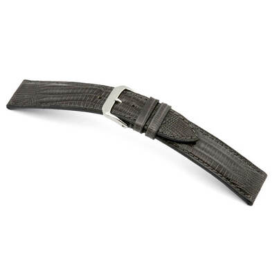 Stone Grey RIOS1931 Avenue | Genuine Teju-Lizard Watch Band | RIOS1931.com