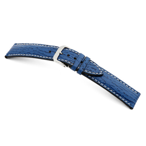 Royal Blue RIOS1931 Wave | Genuine Shark Watch Band | RIOS1931.com