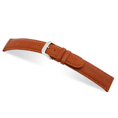 Cognac RIOS1931 Texas | Buffalo Leather Watch Band | RIOS1931.com