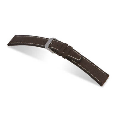 Mocha RIOS1931 Havana | Pigskin Leather Watch Band | RIOS1931.com