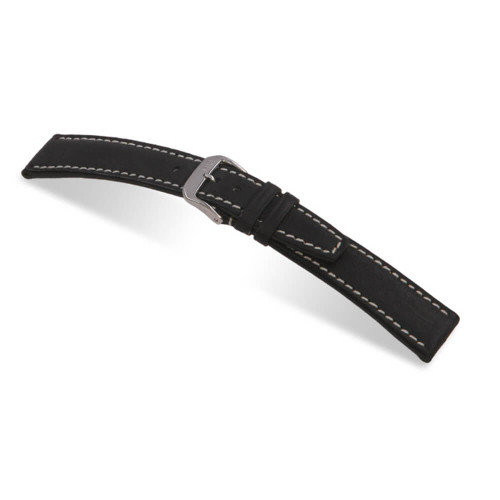 Black RIOS1931 Havana | Pigskin Leather Watch Band | RIOS1931.com