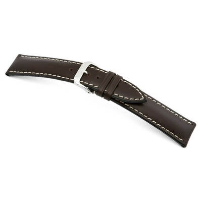 Mocha RIOS1931 St. Petersburg | Russian Leather Watch Band | RIOS1931.com