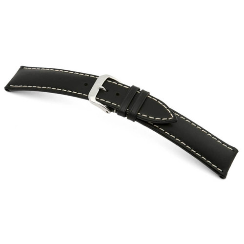 Black RIOS1931 St. Petersburg | Russian Leather Watch Band | RIOS1931.com