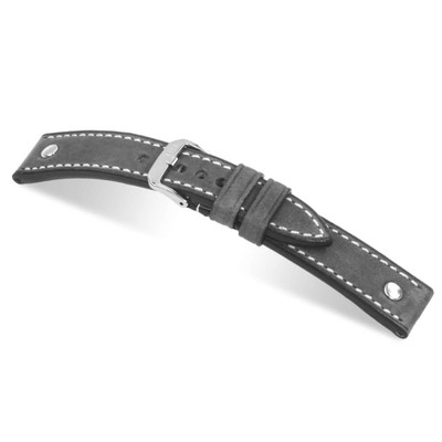 Stone Grey RIOS1931 London | Genuine Vintage Leather Watch Band | RIOS1931.com