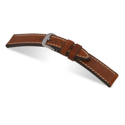 Cognac RIOS1931 Oxford | Vintage Leather Watch Band | RIOS1931.com