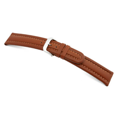 Cognac RIOS1931 Veneto | Calf Leather Watch Band | RIOS1931.com
