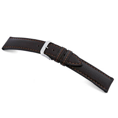 Mocha RIOS1931 Colorado | Buffalo Leather Watch Band | RIOS1931.com