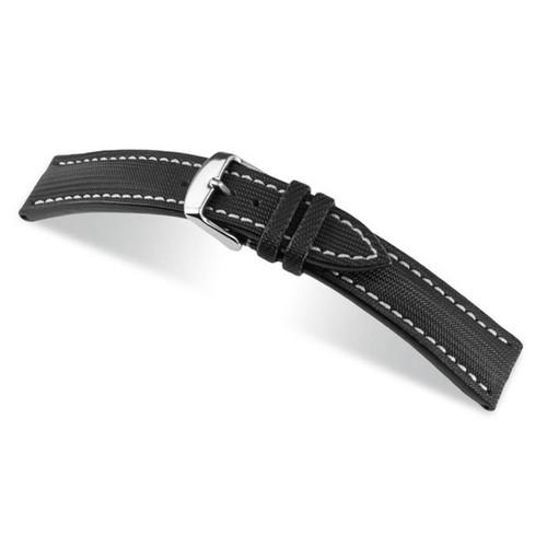 Black RIOS1931 Bass | Water Resistant Watch Band | RIOS1931.com