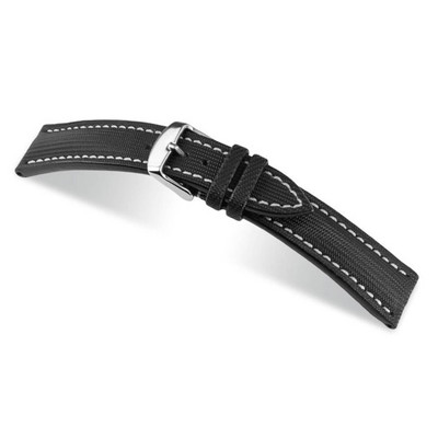 Black RIOS1931 Bass | Water Resistant Watch Band | RIOS1931.com