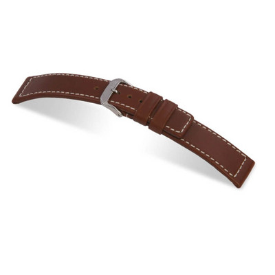 Mahogany RIOS1931 Mariner | Water Resistant Leather Watch Band | RIOS1931.com