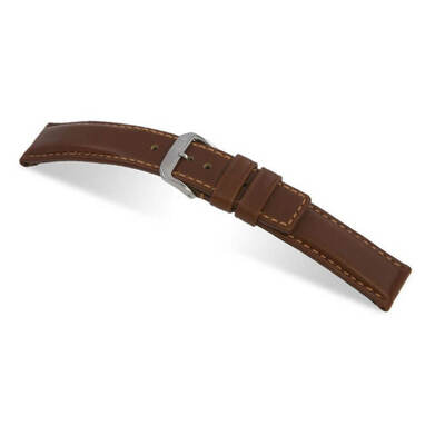 Mahogany RIOS1931 Diver | Water Resistant Leather Watch Band | RIOS1931.com