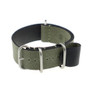 Olive Drab RIOS1931 Warsaw, Canvas Nato (4 Brushed Rings) | Panatime.com