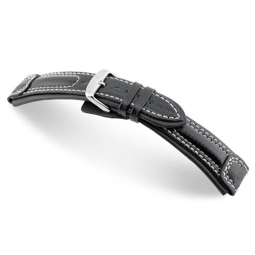 Black Silverstone - RIOS1931 Carbon Sport Watch Strap