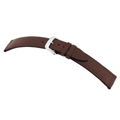 Mocha RIOS1931 Kempten, Genuine Certified Organic Leather Watch Band | RIOS1931.com