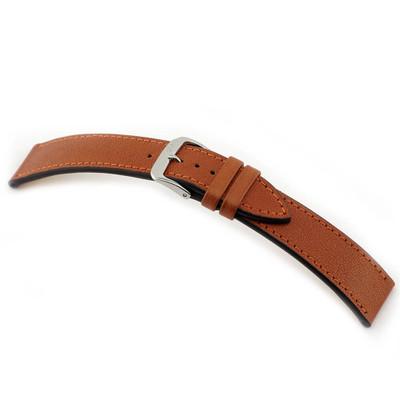 Cognac RIOS1931 Peiting | Genuine Certified Organic Leather Watch Band | RIOS1931.com