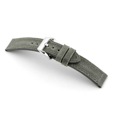 Stone Grey RIOS1931 Maryland, Vintage Genuine Canvas Watch Band | RIOS1931.com
