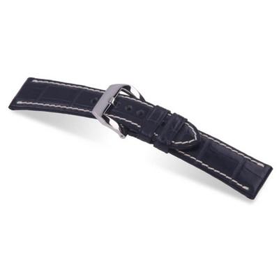 Ocean Blue RIOS1931 Modena   Genuine Alligator Watch Band for Panerai   RIOS1931.com