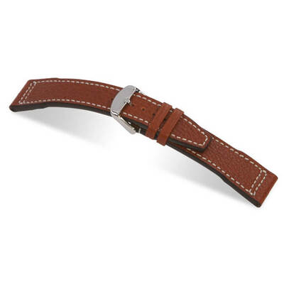Cognac RIOS1931 Typhoon, Genuine Buffalo Leather Watch Band for IWC | RIOS1931.com