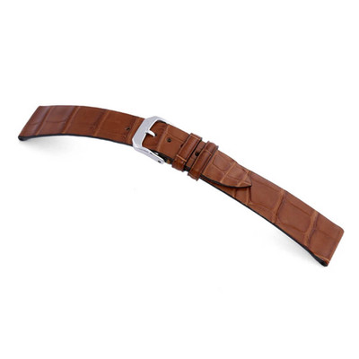 Cognac RIOS1931 Zurich | Genuine Alligator Watch Band for Patek Philippe | RIOS1931.com