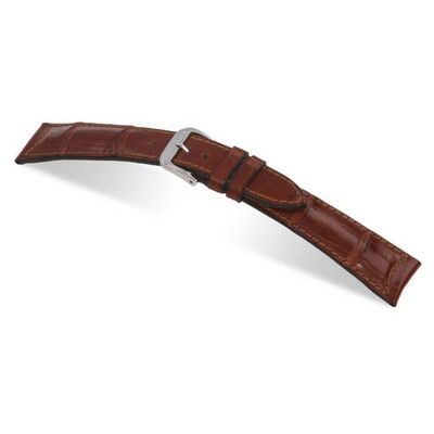 Mahogany RIOS1931 Legend | Genuine Alligator Watch Band for Jaeger le Coultre | RIOS1931.com