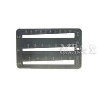 I/C THREE SLOT KEY GAUGE