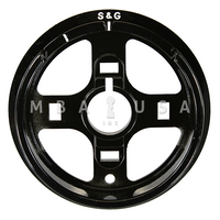 S&G DIAL RING - R162, SPY PROOF, BLACK & WHITE