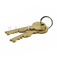 PAIR OF RENTER KEYS FOR BNLN LEFEBURE 7750 LOCK