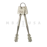 S&G 6870/80/90 FAS KEYS - RANDOM CUT, PAIR (65MM)