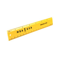 "MBA USA 7"" RULER"