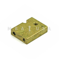 Lock Bolt for S&G 6600, 6700, 8400, 8500 Series Locks, Metric Tapped M4 x .7, Standard Length
