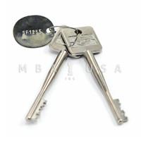 """Cut Keys, Pair, 45mm (1.5"""")"""